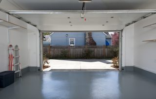 Garage with Expoy Flooring